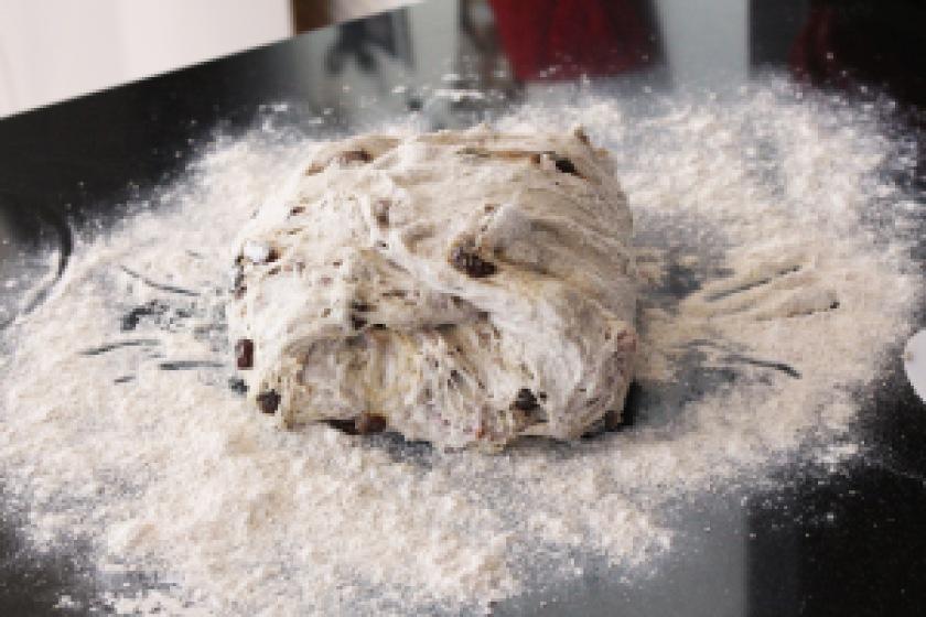 Pan co'santi folding dough3