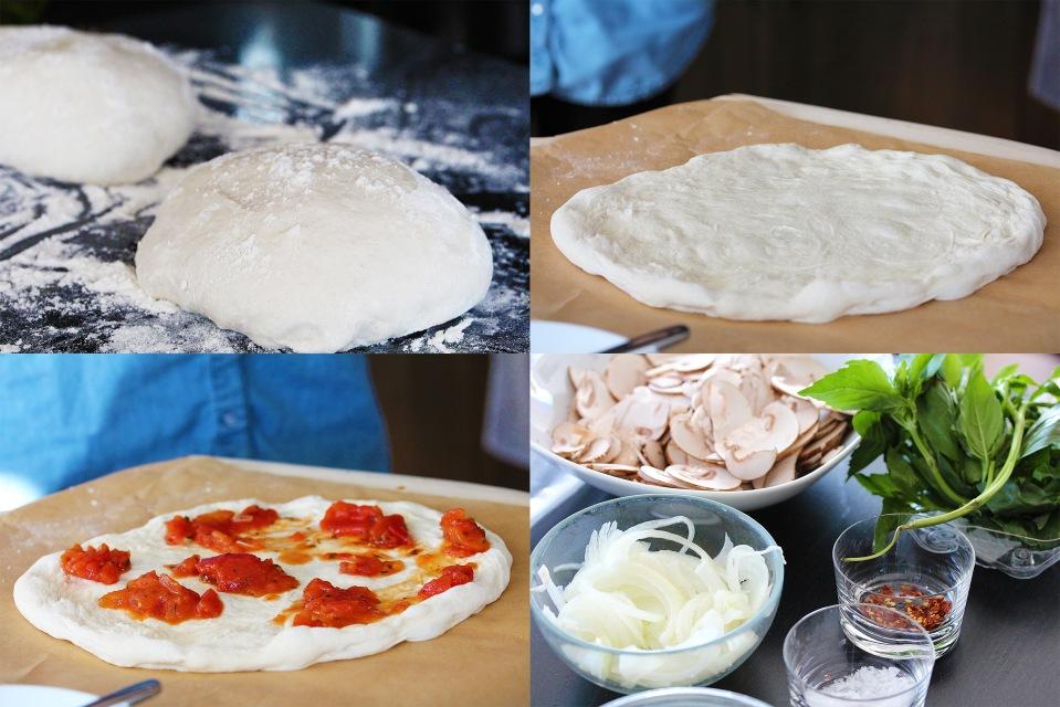 Pizza making 1